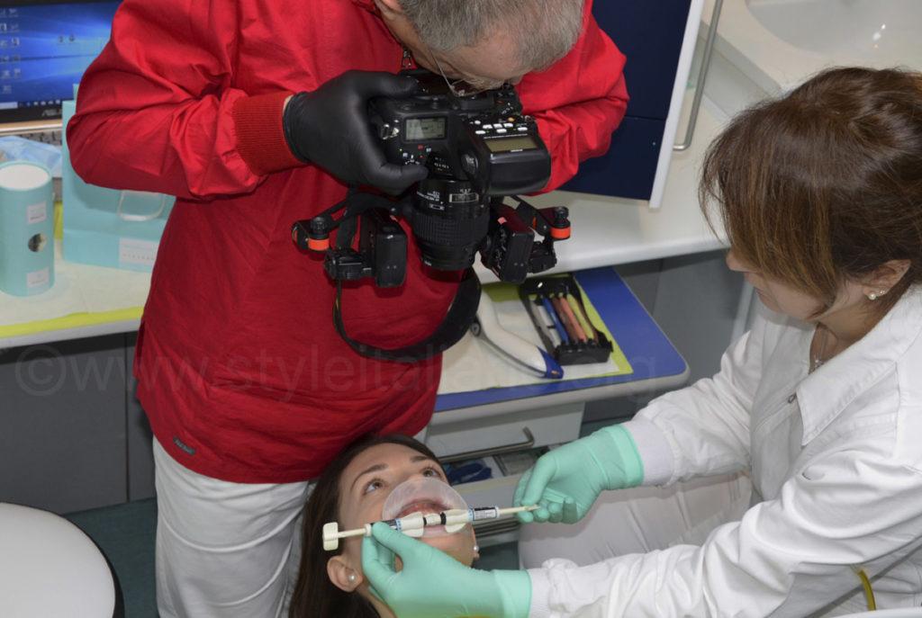 dental photography position